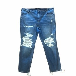 NWOT American eagle highrise distressed jeans